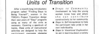 1974–1977: Project Transition (STP Program)