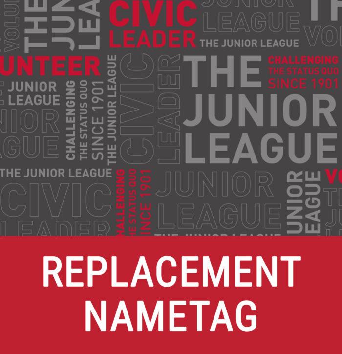 Replacement Nametag